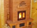 Финская печь-камин